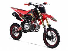Moto enfant GUNSHOT 125 FX - MONSTER ENERGY - ROUGE