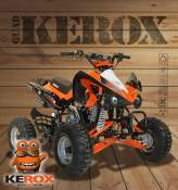 Quad enfant KEROX Speedbird 110 ORANGE