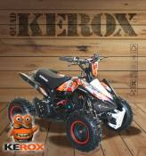 Quad pocket KEROX Rex 49cc BW6 ROUGE