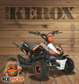Quad pocket KEROX Rex 49cc ROUGE