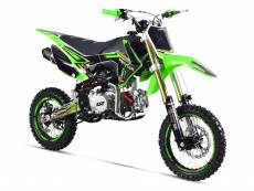 Pit Bike GUNSHOT 140 FX - MONSTER ENERGY - VERT - édition 2018