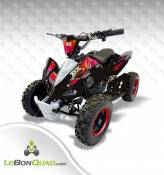 Quad pocket LBQ Speedy 49cc ROUGE
