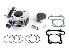Cylindre piston d.60mm Airsal alu 163cc Maxiscooter 157QMJ