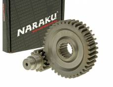 Transmission secondaire Naraku Racing 14/39 +10% GY6 125/150cc 152/157QMI