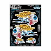 Autocollant Lethal Threat Yeux D'ange