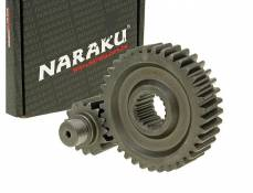 Transmission secondaire Naraku Racing 15/37 +20% GY6 125/150cc 152/157QMI