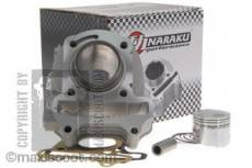 Cylindre piston Naraku ''Standard'' 50cc Kymco Agility / People 4Temps LC