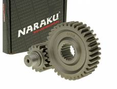 Transmission secondaire Naraku Racing 17/36 +31% GY6 125/150cc 152/157QMI