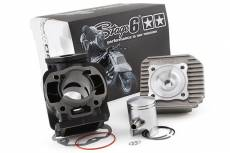 Cylindre culasse Stage6 50cc Streetrace fonte MBK Booster / Stunt