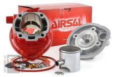 Cylindre culasse Airsal 80cc ''Xtrem'' Course 45mm MBK Nitro / Aerox