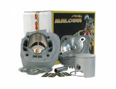 Cylindre culasse Malossi 70cc MHR Racing MBK Ovetto / Neo's axe 12mm