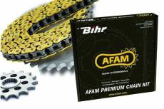 Kit chaine Afam 520 Type MX4 13/48 114 maillons Honda CRF 250