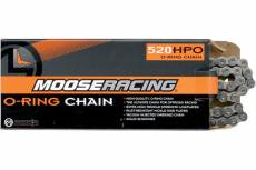 Chaine 520 Moose Racing HPO O-Ring 112 maillons