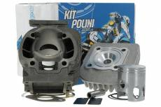 Cylindre piston Polini 50cc ''Sport'' fonte MBK Booster / Stunt