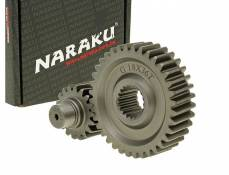 Transmission secondaire Naraku Racing 18/36 +35% GY6 125/150cc 152/157QMI