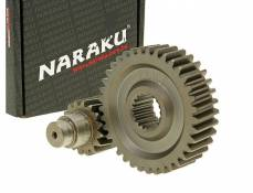 Transmission secondaire Naraku Racing 16/37 +25% GY6 125/150cc 152/157QMI