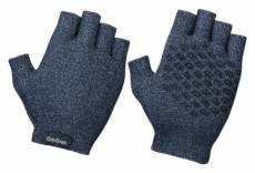 Gants courts en tricot gripgrab freedom bleu navy s
