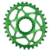 Absolute Black Plateau Oval Race Face Direct Mount 6 Mm Offset 28t Green