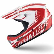 Casque Specialized Dissident Comp Blanc Rouge