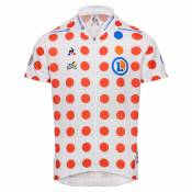 Le Coq Sportif Tdf 2019 Jersey Enfant 12 Years Pois