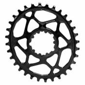Absolute Black Plateau Oval Sram Direct Mount Boost 3 Mm Offset 28t Black