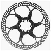Formula Two Pieces Brake Disc With Bolts 140 mm Black / Silver