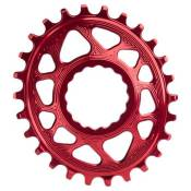 Absolute Black Oval Race Face Direct Mount 6 Mm Offset 34t Red
