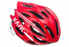 Casque kask mojito rouge blanc l 59 62 cm