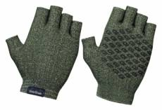 Gants courts tricotes gripgrab freedom olive xl
