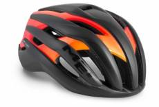 Casque met trenta noir matt orange brillant s 52 56 cm