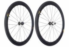 Mavic 2018 paire de roues cosmic pro carbon sl t disc m 25 shimano sram center lock 12 x 100 12 x 142 mm