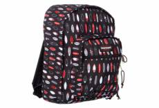 Eastpak dakota 98z surfboards noir rouge