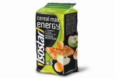 Barres energetiques isostar cereal max pomme abricot 3x55g