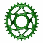 Absolute Black Plateau Oval Race Face Direct Mount Boost 3 Mm Offset 34t Green