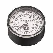 Lezyne 220 Psi Gauge 2.5 Inches For All Floor Pumps Glue And O-ring