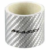 Massi Spacers 2 Units Carbon 1 1/8 30 Mm 1 1/8 Inches / 30 mm White