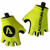 Gants All4cycling Jaunes fluo