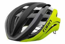 Casque giro aether spherical mips noir jaune fluo mat 2021 s 51 55 cm