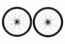 Paire de roues fast forward f4d fcc carbon disc dt240s sp 12x100 12x142mm corps shimano sram noir mat
