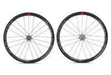 Paire de roues fulcrum racing speed 40 carbon disc 12x100mm 12x142mm 2019 shimano sram