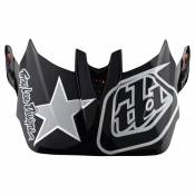 Troy Lee Designs D4 Visor One Size Freedom 2.0 Red / White