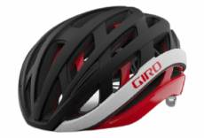Casque route giro helios spherical mips noir rouge mat 2021 l 59 63 cm