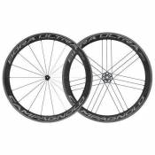 Campagnolo Paire Roues Route Bora Ultra Dark 50 Tyres 9 x 100 / 10 x 130 mm Black