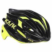 Casques Kask Mojito 16 S Black / Yellow Fluo