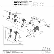 Shimano Rd-5800 One Size Black