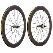 Ritchey Paire Roues Route Apex Ii 60 Wcs Carbon Disc Tubeless 9 x 100 / 10 x 130 mm Dark Grey
