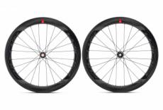 Paire de roues fulcrum wind 55 carbon disc 12x100 12x142 mm centerlock sram xdr
