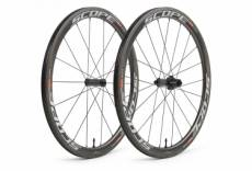 Paire de roues scope r4c carbon 45 mm largeur 26 mm 9x100 9x130mm corps shimano sram shimano sram
