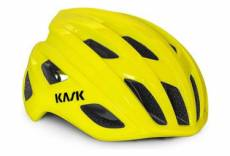 Casque route kask mojito cubed jaune fluo l 59 62 cm