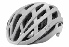 Casque route giro helios spherical mips blanc argent mat 2021 s 51 55 cm